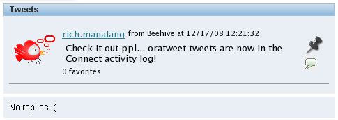 OraTweet web app