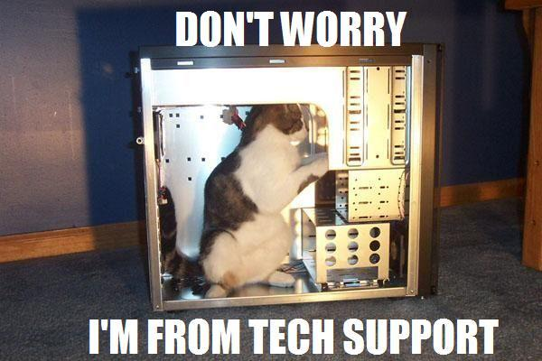 Don't Worry I'm from Tech Support