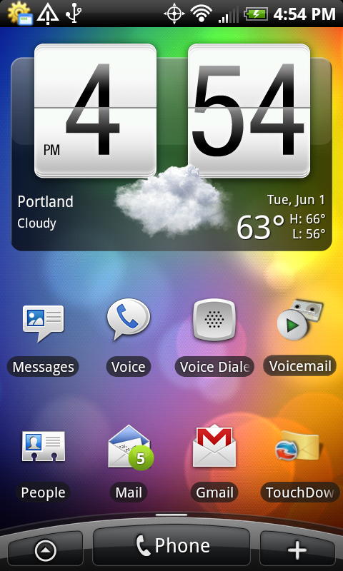 actually like the big old clock widget