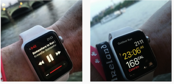 Somewhere to run in London with the Apple Watch Glances (see what I did there?)