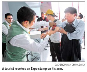 man-gets-expo-stamp-on-his-arm