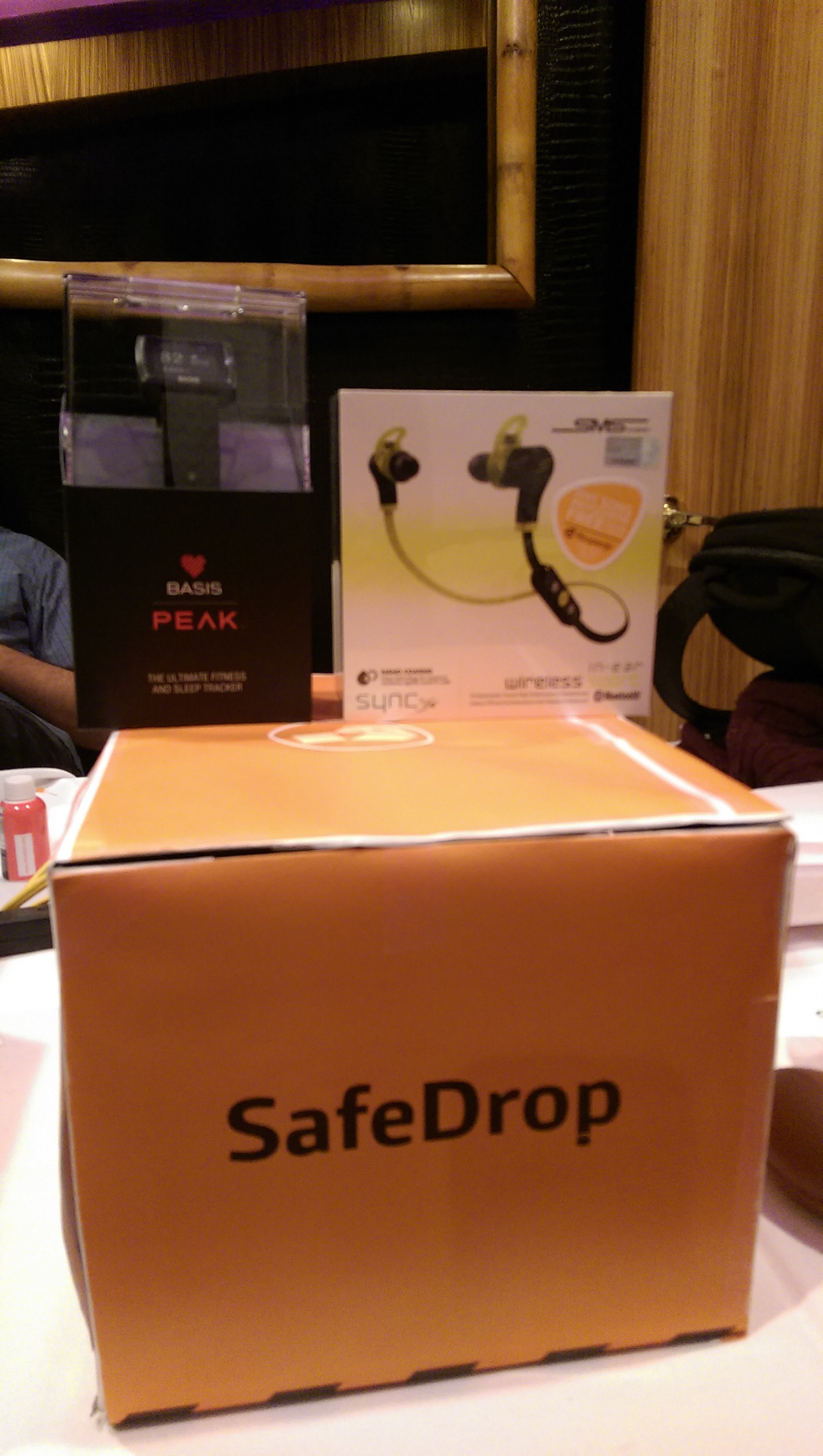 SafeDrop won 2nd place of Best Use of Intel Edison, with prizes